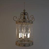 3ds max chandelier savoy house hispania
