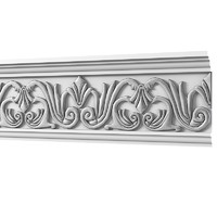 classic carved ceiling 3d max