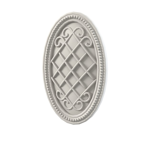 3d medallion element - Medallion decoratine element... by archstyle