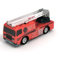 3d hook ladder truck games