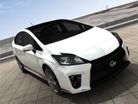 3D Model car Toyota Prius G's 2012