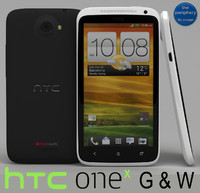 HTC One X Gray & White