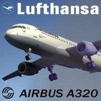 3d airbus a320