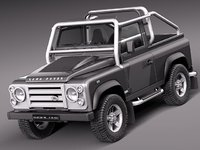 3ds max land rover landrover defender