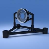 3d tidal turbine