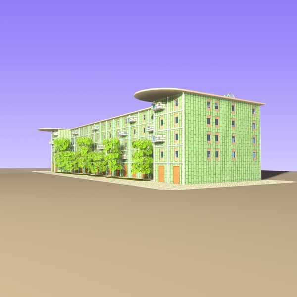 3d model of residential apartment - Residential Apartments... by Carrara1