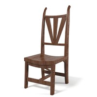 Rustic Tree Wood Dining chair