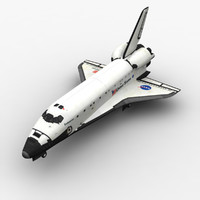 space shuttle spacecraft 3ds