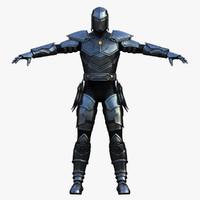 thunder knight 3d model