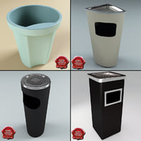 Trash Cans Collection V1