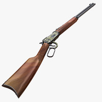 winchester 1894 3d model