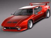 3d tomaso pantera gts 1971 model
