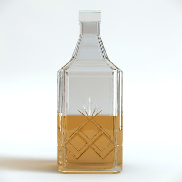 max bottle whiskey - Bottle Whiskey... by 3DSerg