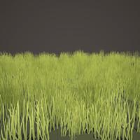free grass 3d model