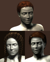 polygonal haircuts mannequin hair 3d max