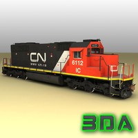 Locomotive EMD SD40-2 CN