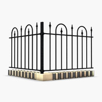 max wrought iron fence