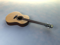 free ma model acoustic guitar simple