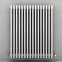 c4d wall radiator heater