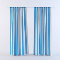 3d model curtains 18