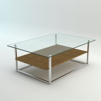 "Glass Table ""The Hammock"