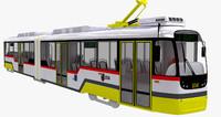 3d czech tram