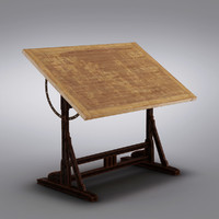 Restoration Hardware - 1920s French Drafting Table