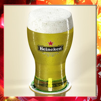 Heineken Beer - Pint Glass