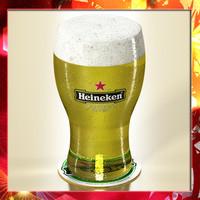 3d heineken pint beer -