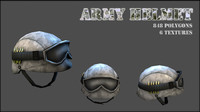 helmet army 3d 3ds