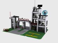 lego central precinct max