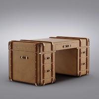 3d model restoration hardware - richards