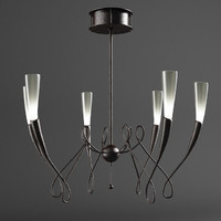 terzani chandelier lighting virgins 3d model