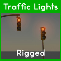 traffic light obj free
