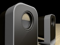 3d c4d speakers logitech