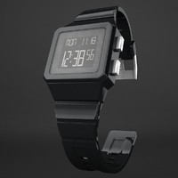 watch wristwatch 3d model