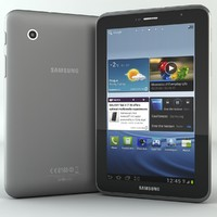 3d model samsung galaxy tab 2