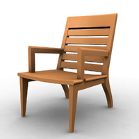 furniture chair 3d 3ds