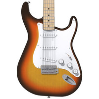 Fender Stratocaster Guitar: Sunburst Finish: Max Format