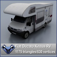 3d fiat ducato knaus recreational