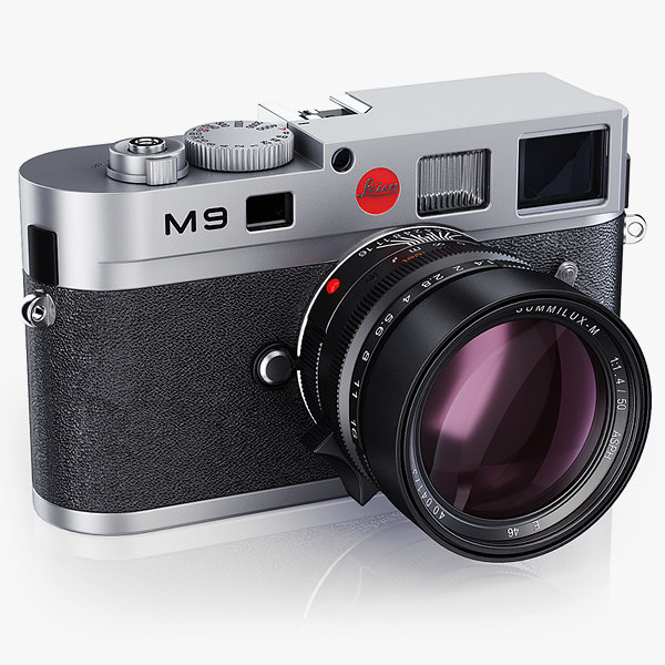 Leica M9 silver and black