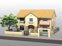house5 3d 3ds