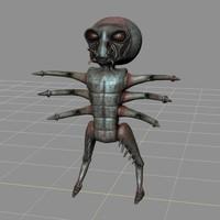 meteriz character mudbox 3d model