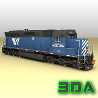maya emd sd45 engines mrl