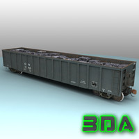max e530 gondola rails cargo