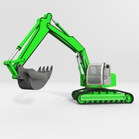 Excavator construction machine
