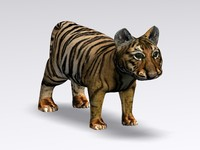 baby tiger 3d 3ds