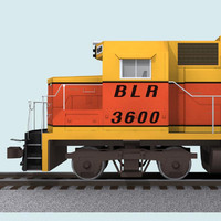 Train Engine / Loco: EMD GP38: B-Line Railroad