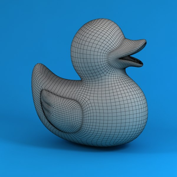 3d model of rubber duck - rubber duck... by ZOEL81