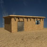 3d model kurdistan house village v